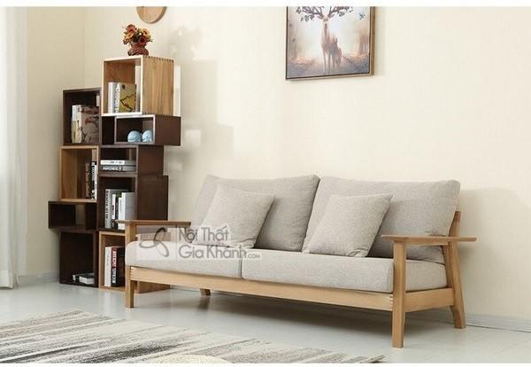 Có nên sử dụng ghế sofa gỗ sồi nệm cho phòng khách hay không? - co nen su dung ghe sofa go soi nem cho phong khach hay khong