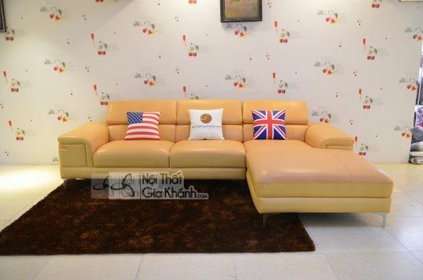 Ghế sofa màu vàng và những yếu tố phong thủy cần lưu ý - ghe sofa mau vang va nhung yeu to phong thuy can luu y 3