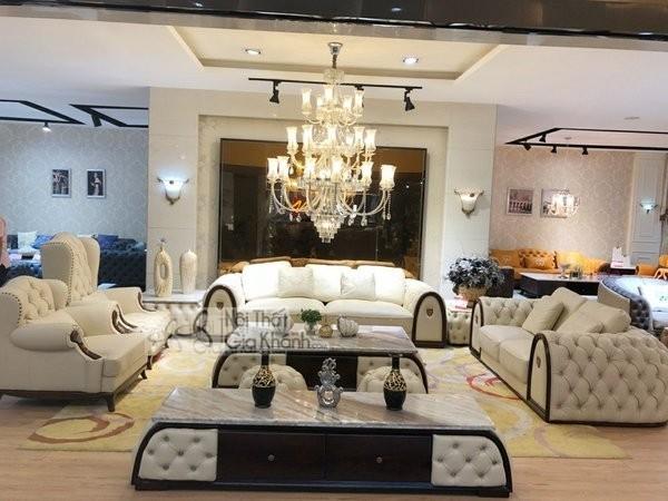 Ghế sofa phòng khách rộng lớn nên chọn kiểu, chất liệu, kích thước thế nào? - ghe sofa phong khach rong lon nen chon kieu chat lieu kich thuoc the nao 2