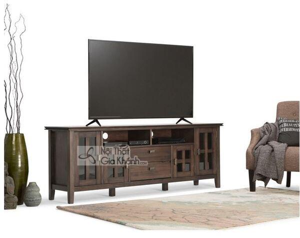 Giới thiệu top 30 mẫu kệ tivi phòng khách gỗ tự nhiên đẹp và chất lượng - gioi thieu top 30 mau ke tivi phong khach go tu nhien dep va chat luong 5