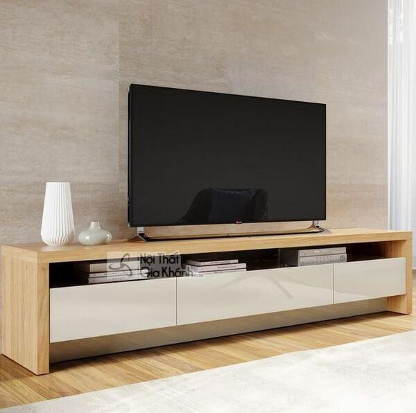 Giới thiệu top 30 mẫu kệ tivi phòng khách gỗ tự nhiên đẹp và chất lượng - gioi thieu top 30 mau ke tivi phong khach go tu nhien dep va chat luong 9