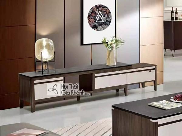 Kệ tủ tivi hiện đại, giải pháp giúp tối ưu cho không gian phòng khách - ke tu tivi hien dai giai phap giup toi uu cho khong gian phong khach 2