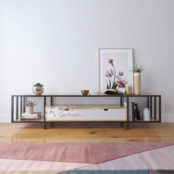 Kệ tủ tivi hiện đại, giải pháp giúp tối ưu cho không gian phòng khách - ke tu tivi hien dai giai phap giup toi uu cho khong gian phong khach 7