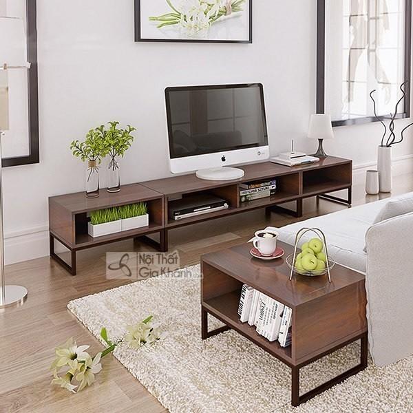 Kệ tủ tivi hiện đại, giải pháp giúp tối ưu cho không gian phòng khách - ke tu tivi hien dai giai phap giup toi uu cho khong gian phong khach 9