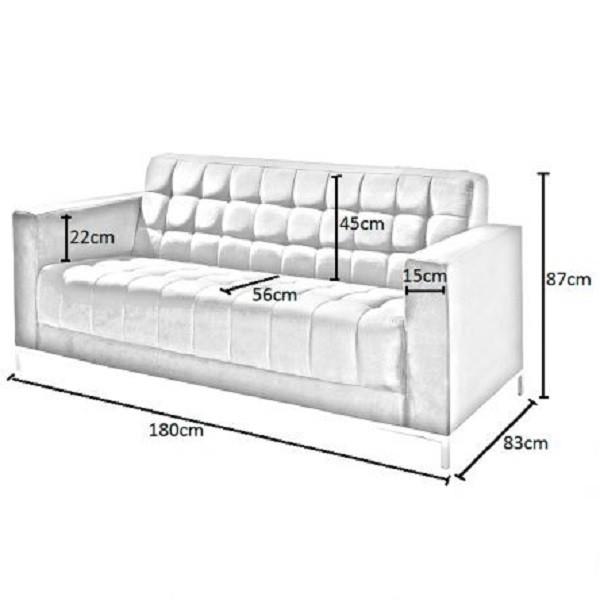 Kích thước tiêu chuẩn ghế sofa