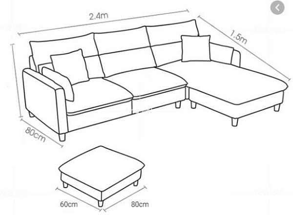 sofa chữ L