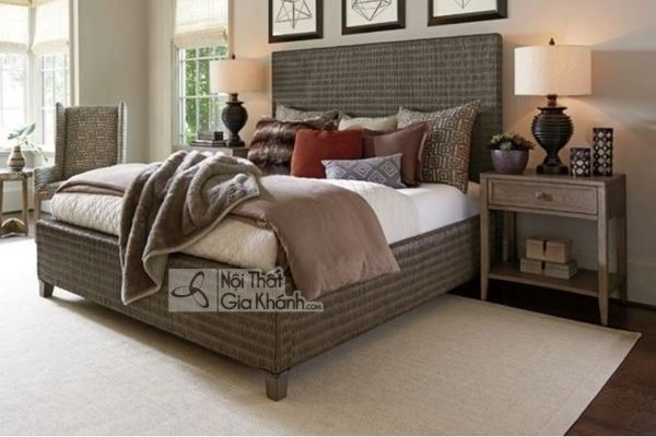 50+ Mẫu giường ngủ đẹp nhất, thiết kế hiện đại siêu hot 2020 - mua ngay 50 mau giuong ngu go hien dai phu hop moi khong gian noi that 36