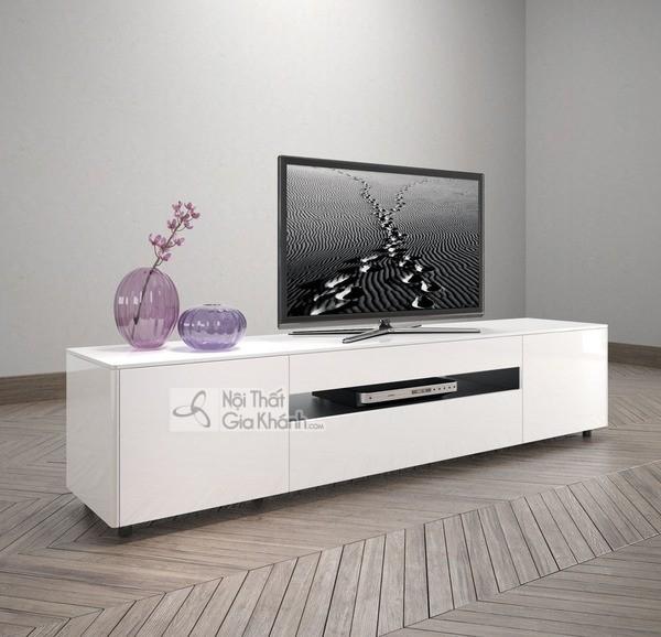 Mua ngay 35 mẫu kệ tivi màu trắng siêu đẹp giúp không gian nhà thêm sang trọng - mua ngay 50 mau ke tivi mau trang sieu dep giup khong gian nha them sang trong 11