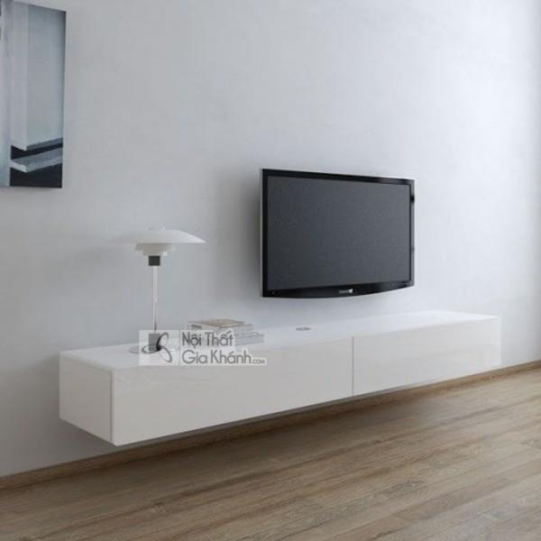Mua ngay 35 mẫu kệ tivi màu trắng siêu đẹp giúp không gian nhà thêm sang trọng - mua ngay 50 mau ke tivi mau trang sieu dep giup khong gian nha them sang trong 16