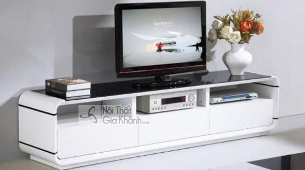 Mua ngay 35 mẫu kệ tivi màu trắng siêu đẹp giúp không gian nhà thêm sang trọng - mua ngay 50 mau ke tivi mau trang sieu dep giup khong gian nha them sang trong 19