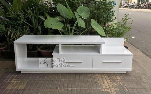 Mua ngay 35 mẫu kệ tivi màu trắng siêu đẹp giúp không gian nhà thêm sang trọng - mua ngay 50 mau ke tivi mau trang sieu dep giup khong gian nha them sang trong 21