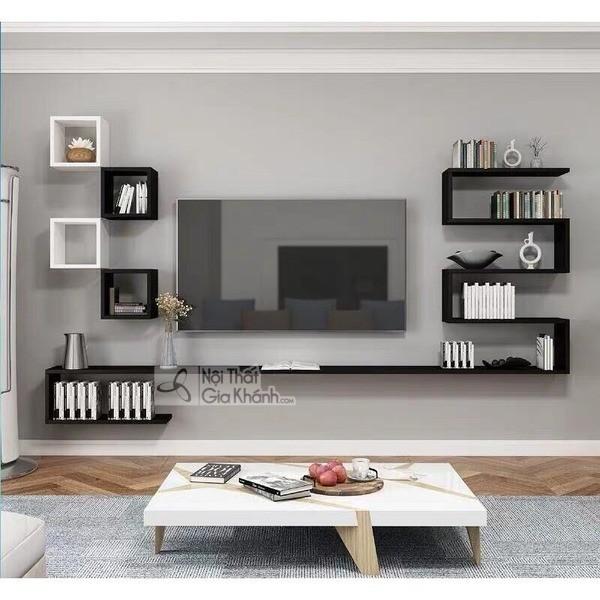 Mua ngay 35 mẫu kệ tivi màu trắng siêu đẹp giúp không gian nhà thêm sang trọng - mua ngay 50 mau ke tivi mau trang sieu dep giup khong gian nha them sang trong 27