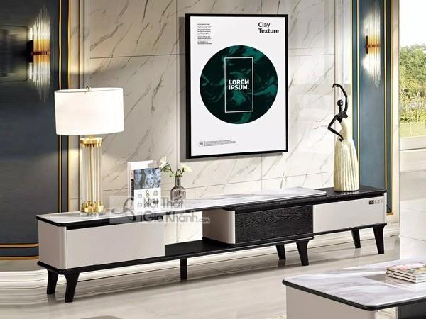 Mua ngay 35 mẫu kệ tivi màu trắng siêu đẹp giúp không gian nhà thêm sang trọng - mua ngay 50 mau ke tivi mau trang sieu dep giup khong gian nha them sang trong 3