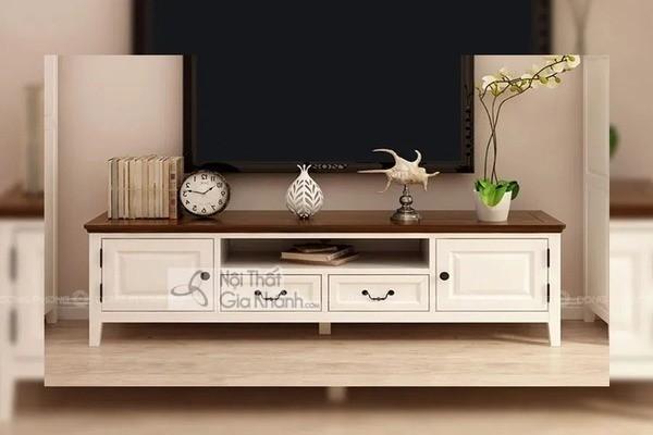 Mua ngay 35 mẫu kệ tivi màu trắng siêu đẹp giúp không gian nhà thêm sang trọng - mua ngay 50 mau ke tivi mau trang sieu dep giup khong gian nha them sang trong 30
