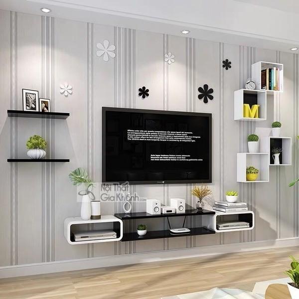 Mua ngay 35 mẫu kệ tivi màu trắng siêu đẹp giúp không gian nhà thêm sang trọng - mua ngay 50 mau ke tivi mau trang sieu dep giup khong gian nha them sang trong 32