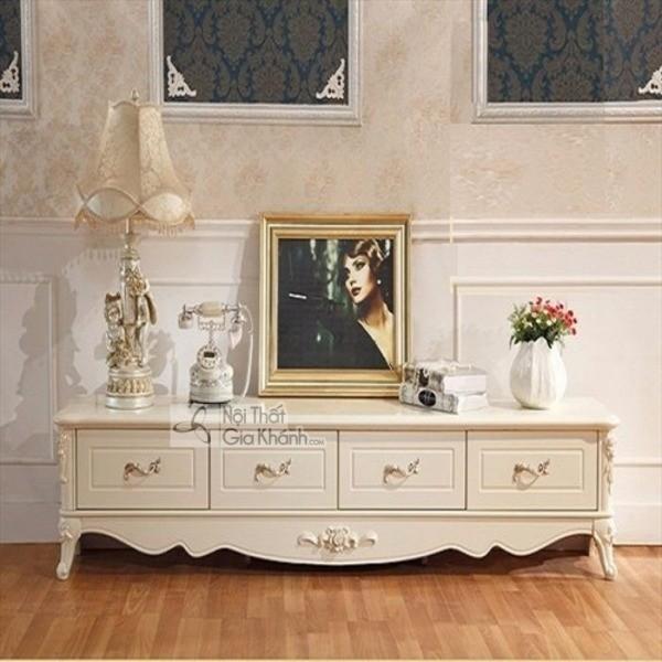 Mua ngay 35 mẫu kệ tivi màu trắng siêu đẹp giúp không gian nhà thêm sang trọng - mua ngay 50 mau ke tivi mau trang sieu dep giup khong gian nha them sang trong 37