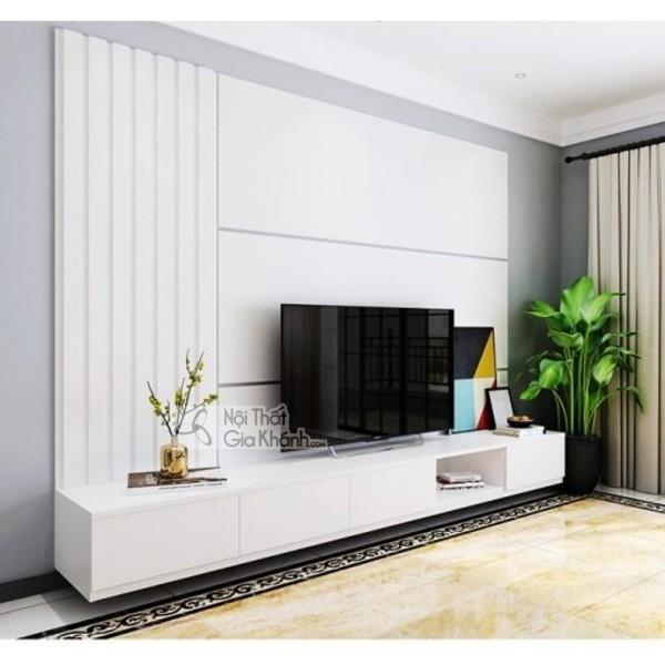 Mua ngay 35 mẫu kệ tivi màu trắng siêu đẹp giúp không gian nhà thêm sang trọng - mua ngay 50 mau ke tivi mau trang sieu dep giup khong gian nha them sang trong 42