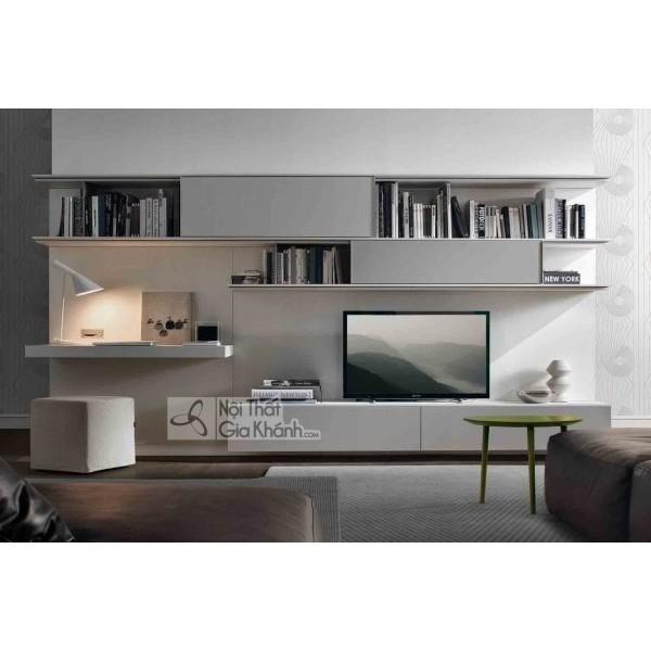 Mua ngay 35 mẫu kệ tivi màu trắng siêu đẹp giúp không gian nhà thêm sang trọng - mua ngay 50 mau ke tivi mau trang sieu dep giup khong gian nha them sang trong 45