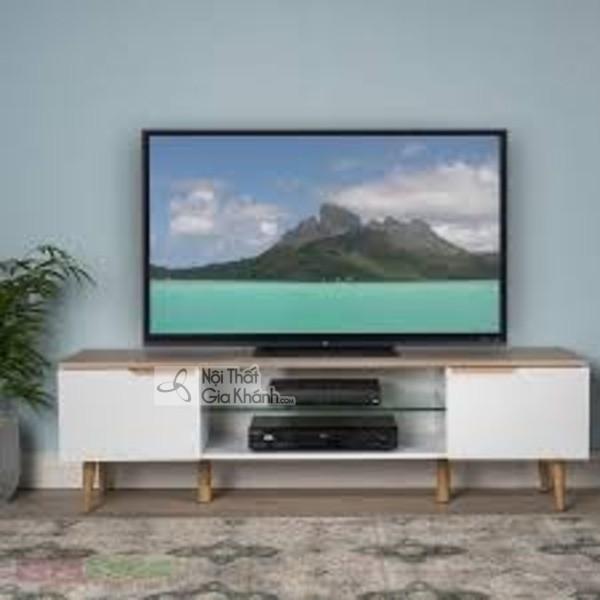 Mua ngay 35 mẫu kệ tivi màu trắng siêu đẹp giúp không gian nhà thêm sang trọng - mua ngay 50 mau ke tivi mau trang sieu dep giup khong gian nha them sang trong 46