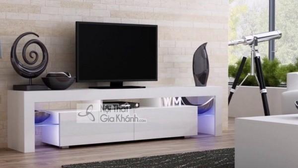 Mua ngay 35 mẫu kệ tivi màu trắng siêu đẹp giúp không gian nhà thêm sang trọng - mua ngay 50 mau ke tivi mau trang sieu dep giup khong gian nha them sang trong 49
