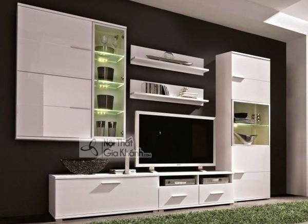 Mua ngay 35 mẫu kệ tivi màu trắng siêu đẹp giúp không gian nhà thêm sang trọng - mua ngay 50 mau ke tivi mau trang sieu dep giup khong gian nha them sang trong 50
