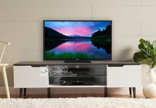 Mua ngay 35 mẫu kệ tivi màu trắng siêu đẹp giúp không gian nhà thêm sang trọng - mua ngay 50 mau ke tivi mau trang sieu dep giup khong gian nha them sang trong 6