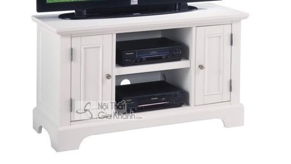 Mua ngay 35 mẫu kệ tivi màu trắng siêu đẹp giúp không gian nhà thêm sang trọng - mua ngay 50 mau ke tivi mau trang sieu dep giup khong gian nha them sang trong 7