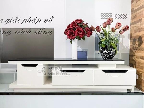 Mua ngay 35 mẫu kệ tivi màu trắng siêu đẹp giúp không gian nhà thêm sang trọng - mua ngay 50 mau ke tivi mau trang sieu dep giup khong gian nha them sang trong