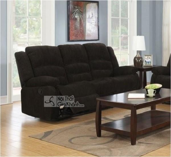 50 mẫu ghế sofa màu đen ấn tượng, lôi cuốn - mua ngay ghe sofa mau nau am cung cho gia dinh 13