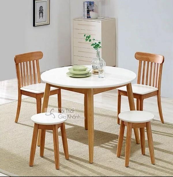 Những bộ bàn ghế ăn gỗ sồi 4 ghế, 6 ghế, 8 ghế được ưa chuộng nhất - nhung bo ban ghe an go soi 4 ghe 6 ghe 8 hhe duoc ua chuong nhat thi truong 1