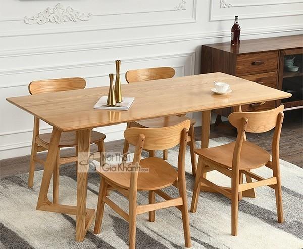 Những bộ bàn ghế ăn gỗ sồi 4 ghế, 6 ghế, 8 ghế được ưa chuộng nhất - nhung bo ban ghe an go soi 4 ghe 6 ghe 8 hhe duoc ua chuong nhat thi truong 2