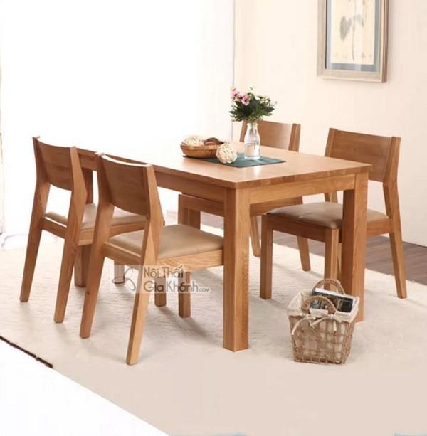 Những bộ bàn ghế ăn gỗ sồi 4 ghế, 6 ghế, 8 ghế được ưa chuộng nhất - nhung bo ban ghe an go soi 4 ghe 6 ghe 8 hhe duoc ua chuong nhat thi truong 3