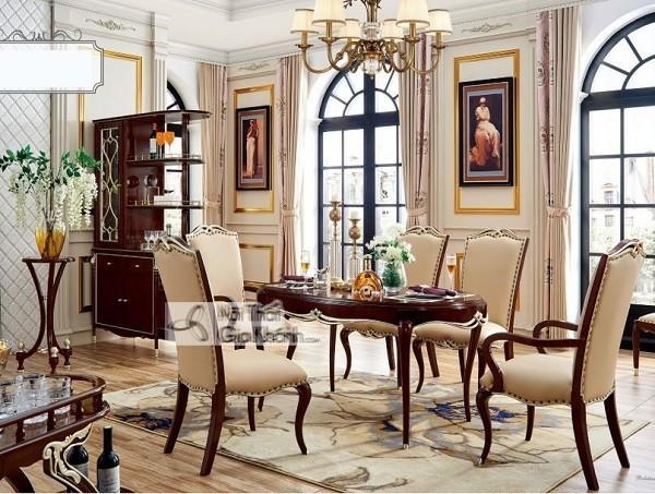 Những bộ bàn ghế ăn gỗ sồi 4 ghế, 6 ghế, 8 ghế được ưa chuộng nhất