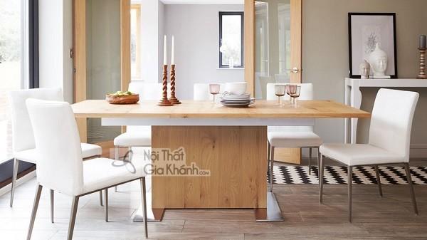 Những bộ bàn ghế ăn gỗ sồi 4 ghế, 6 ghế, 8 ghế được ưa chuộng nhất - nhung bo ban ghe an go soi 4 ghe 6 ghe 8 hhe duoc ua chuong nhat thi truong 8
