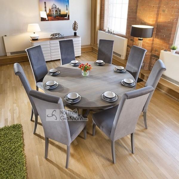 Những bộ bàn ghế ăn gỗ sồi 4 ghế, 6 ghế, 8 ghế được ưa chuộng nhất - nhung bo ban ghe an go soi 4 ghe 6 ghe 8 hhe duoc ua chuong nhat thi truong 9