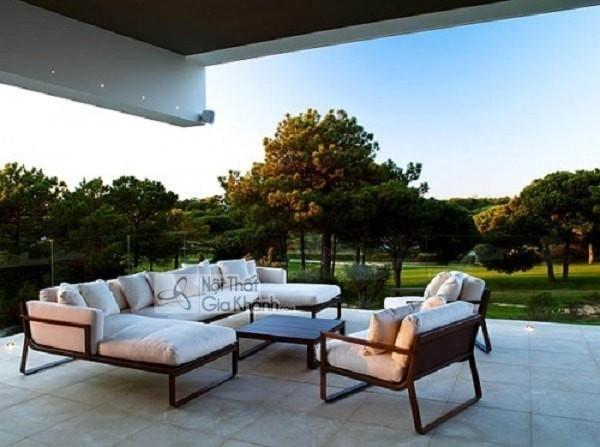 Những điều bạn cần biết khi chọn mua sofa ngoài trời