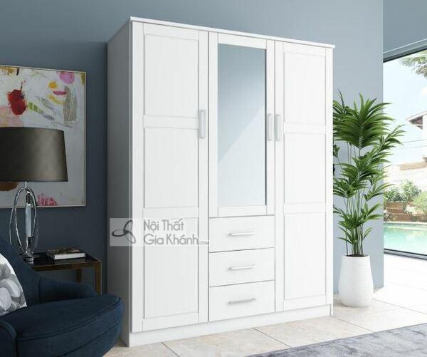 Tổng hợp thiết kế tủ quần áo 3-4-5 buồng gỗ tự nhiên hiện đại đẹp