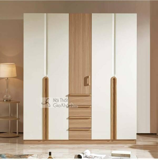 Tổng hợp thiết kế tủ quần áo 3-4-5 buồng gỗ tự nhiên hiện đại đẹp - tong hop 59 thiet ke tu quan ao 3 4 5 buong go tu nhien hien dai dep 8