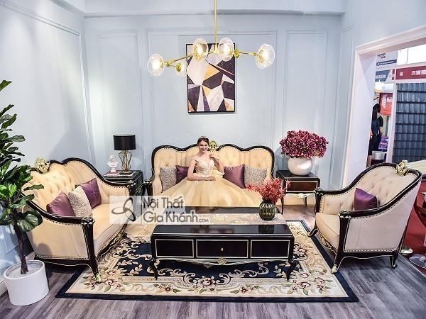 Top những bộ bàn ghế tân cổ điển phòng khách tinh tế bậc nhất - top nhung bo ban ghe tan co dien phong khach tinh te bac nhat 3