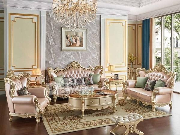 Top những bộ bàn ghế tân cổ điển phòng khách tinh tế bậc nhất - top nhung bo ban ghe tan co dien phong khach tinh te bac nhat 4
