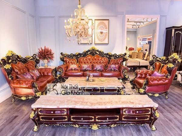 Top những bộ bàn ghế tân cổ điển phòng khách tinh tế bậc nhất - top nhung bo ban ghe tan co dien phong khach tinh te bac nhat