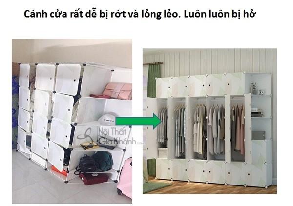 Tủ quần áo vải rẻ thật đấy, nhưng liệu có bền và tiện ích? - tu quan ao vai re that day nhung lieu co ben va tien ich 9