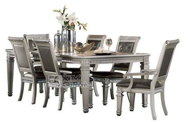 50 Mẫu bàn ghế ăn hiện đại Hà Nội đẹp là xu hướng nội thất phòng bếp 2020 - 50 mau ban ghe an hien dai ha noi dep la xu huong noi that phong bep 2020 32