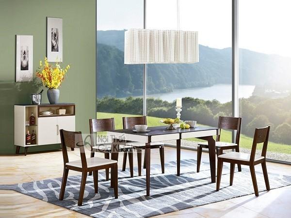 50 Mẫu bàn ghế ăn hiện đại Hà Nội đẹp là xu hướng nội thất phòng bếp 2020 - 50 mau ban ghe an hien dai ha noi dep la xu huong noi that phong bep 2020 6