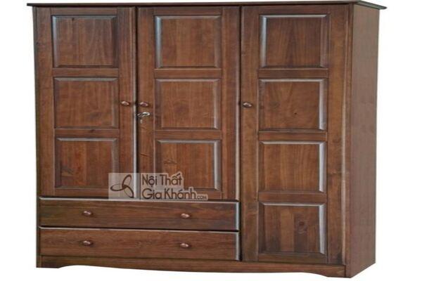 50+ mẫu tủ quần áo gỗ tự nhiên 2 cánh, 3 cánh, 4 cánh nhập khẩu cao cấp - 50 tu quan ao go tu nhien 2 canh 3 canh 4 canh nhap khau cao cap 10