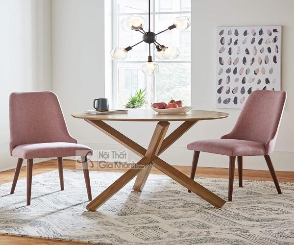 Bộ bàn ghế ăn tròn 4-6-8-10 ghế sang chảnh ấm cúng vô cùng