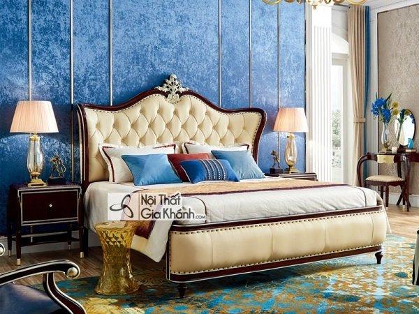 Có 10 lý do để bạn chọn giường ngủ bọc da