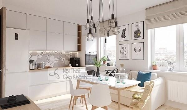 """Đây rồi cách chọn bàn ăn cho phòng bếp nhỏ để """"cơi nới"""" thêm không gian"""
