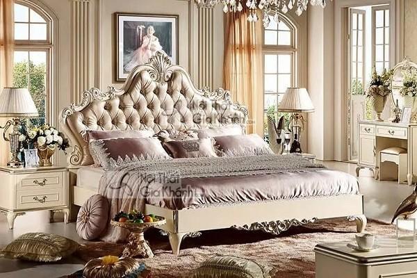 Những mẫu giường ngủ gỗ gõ đỏ cao cấp, đắt đỏ bậc nhất - nhung mau giuong ngu go go do cao cap dat do bac nhat 10