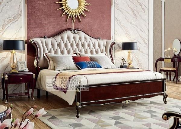Những mẫu giường ngủ phong cách cổ điển cho gia chủ ưa sự quyền quý - nhung mau giuong ngu phong cach co dien cho gia chu ua su quyen quy 1